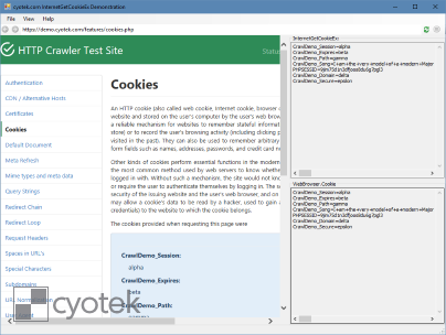 Reading cookies using both InternetGetCookieEx and an embedded WebBrowser control