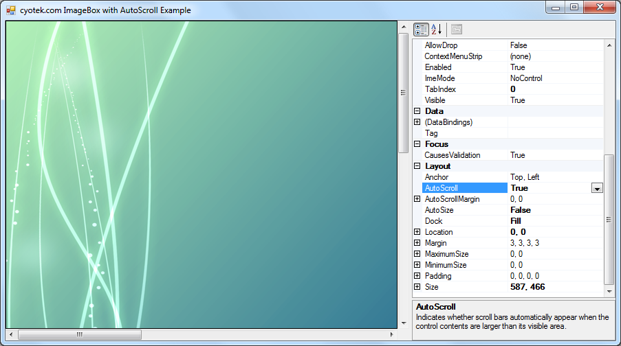Creating a scrollable and zoomable image viewer in C# Part 2