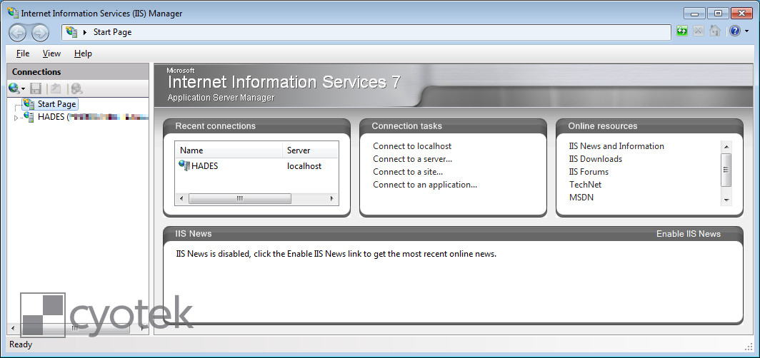 Installing the URL Rewrite module into Internet Information