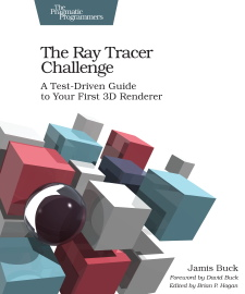 The Ray Tracer Challenge Book Cover