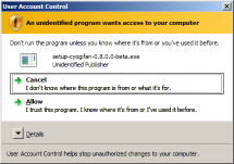 Why would this dialog be displayed for digitally signed software?