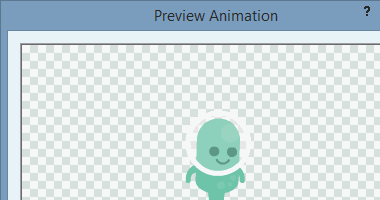 Previewing an animation